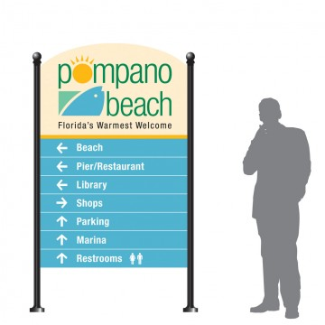 Logo Application - Pedestrian Directional