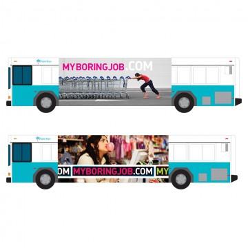 Transportation Signage - Bus Sides