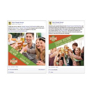 Event Facebook Ads: Craft Brewfest